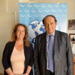 Meeting between WUSME President Barbara Terenzi and WUSME Senator Ivano Spallanzani
