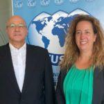 Meeting between WUSME President Barbara Terenzi and H.E. the Ambassador of Algeria in Rome, Mr. Ahmed Boutache