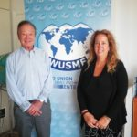 Meeting between WUSME President Barbara Terenzi and WUSME General Secretary Norbert W. Knoll-Dornhof