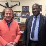 The new WUSME ambassador for the Democratic Republic of Congo