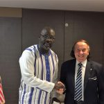 WUSME President Terenzi meets with President of Liberia