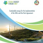 """Vienna Energy Forum 2017: """"Sustainable energy for the implementation of the SDGs and the Paris Agreement"""""""
